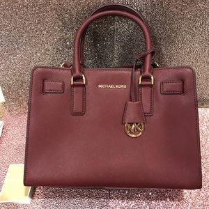 Burgundy/Wine Michael Kors satchel